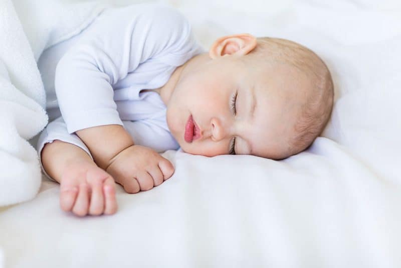 baby sleeping later