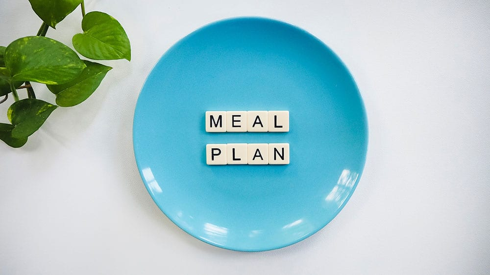 meal plan for two under two