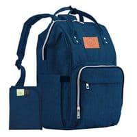 KeaBabies Diaper Bag Backpack - Multi-Function Waterproof Travel Baby Bags for Mom, Dad, Men, Women