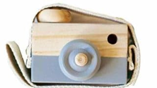 Allywit Baby Kids Cute Wood Camera