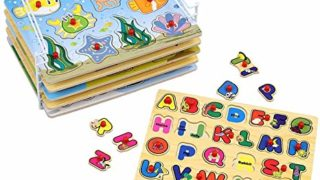 Etna Products Wooden Puzzles For Toddlers