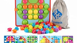 Fansteck Button Art Toy for Toddlers