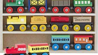 Play22 Wooden Train Set 12 PCS