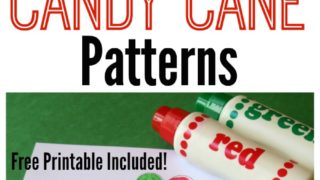 Candy Cane Patterns - FREE Printable