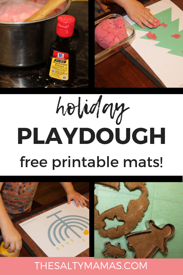 Low-Prep, High Fun-Holiday Playdough Activities for Toddlers – The Salty Mamas