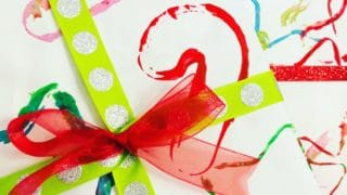 DIY Holiday Gift Wrap – Cookie Cutter Prints