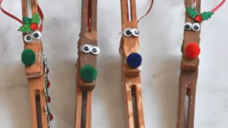 Reindeer Ornament Craft for Kids