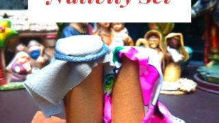 How to Craft A Holy Family Nativity Set