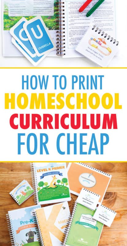 how to print homeschool curriculum for free
