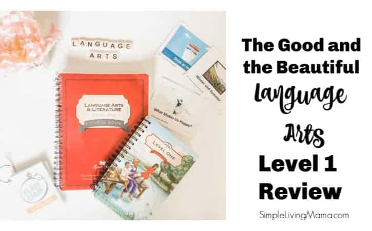 The Good and the Beautiful Language Arts Review - Level 1