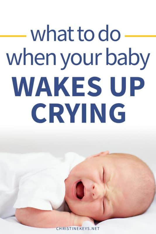What To Do When Your Baby Wakes Up Crying from Naps