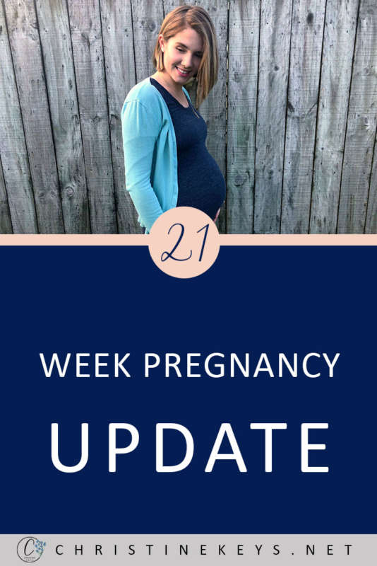 21 Week Pregnancy Update    Here's how I'm doing at 21-weeks and what life's been like. #pregnancy #motherhood #parenting #babies #childbirth