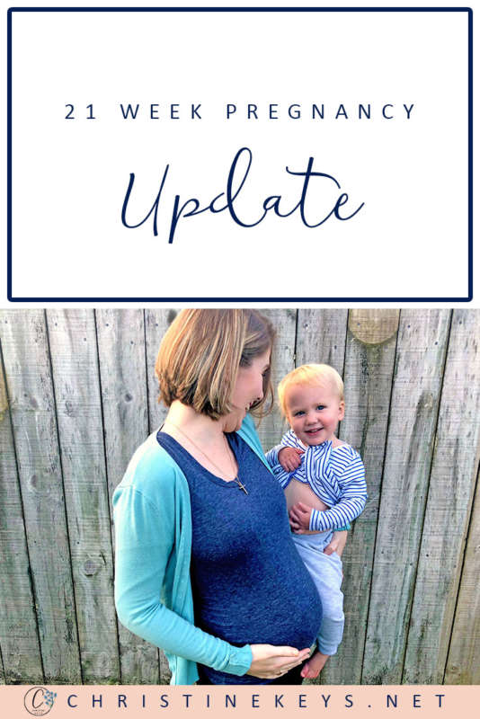 21 Week Pregnancy Update || Here's how I'm doing at 21-weeks and what life's been like. #pregnancy #motherhood #parenting #babies #childbirth