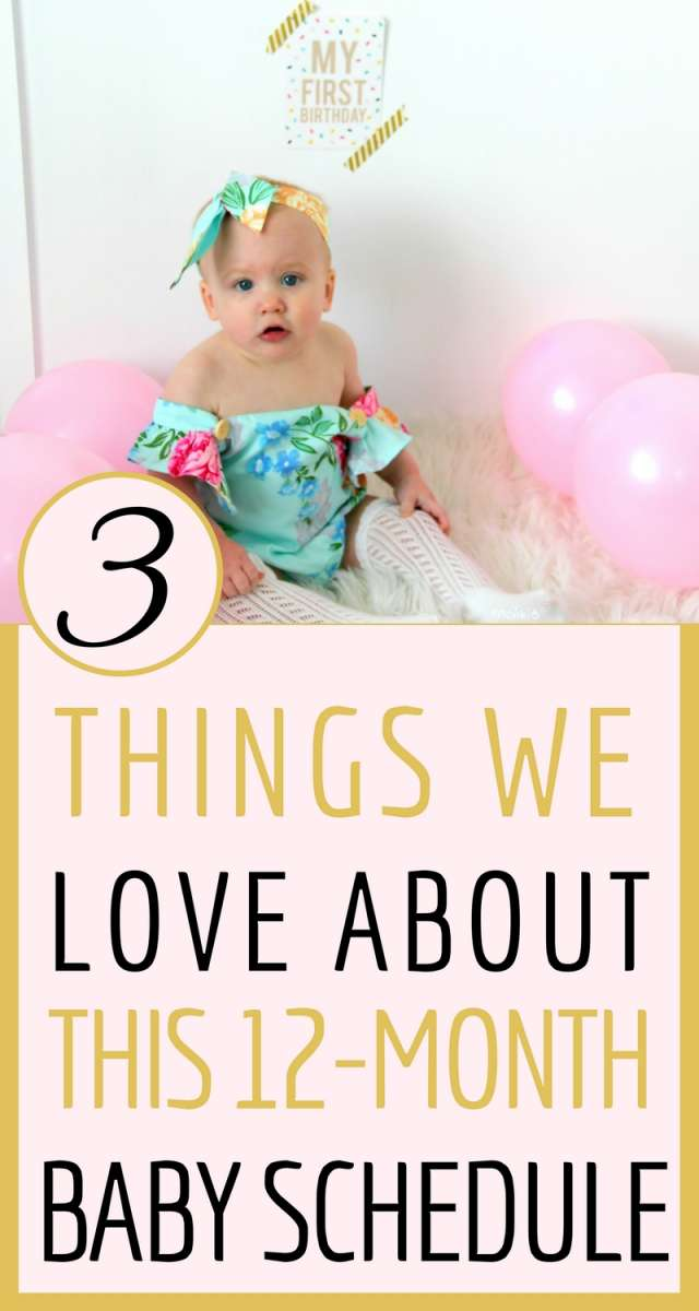 3 Things We Love About This 12 Month Baby Schedule | View Annie's current 2-nap schedule, which includes meal times, and a bit about independent playtime!