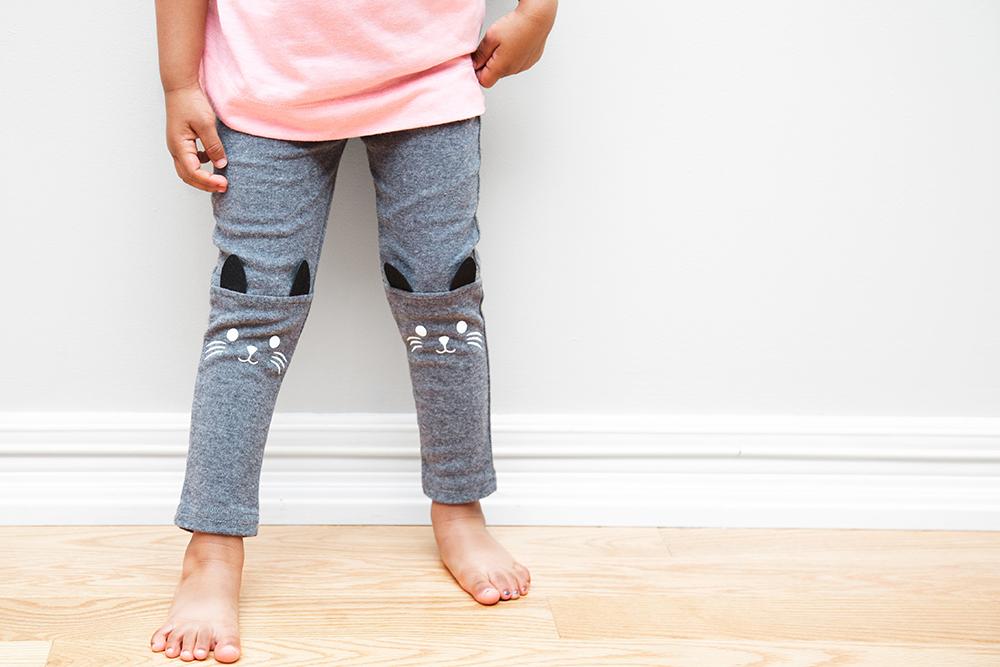 Toddler's legs