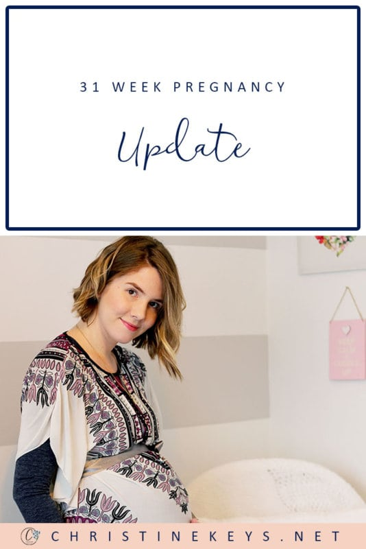 31 Week Pregnancy Update || Find out how things are going at 31 weeks. Are we ready for the baby's arrival? #pregnancy #motherhood #babies #pregnancyupdate