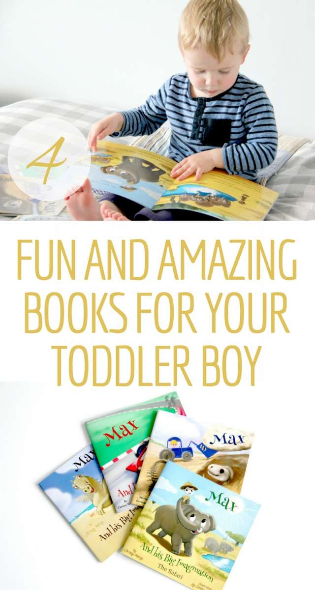 4 Fun and Amazing Books For Your Toddler Boy | A collection of bright, colourful, and imaginative books for your little boy to spend his time reading. A fun way to encourage imagination and quiet play.