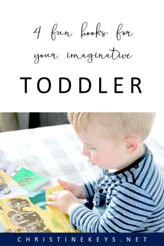4 Fun Books For Your Imaginative Toddler || Bring more fun and creativity into reading time with this beautiful series of books for toddlers! #books #reading #toddlers #parenting #motherhood #toddlerbooks