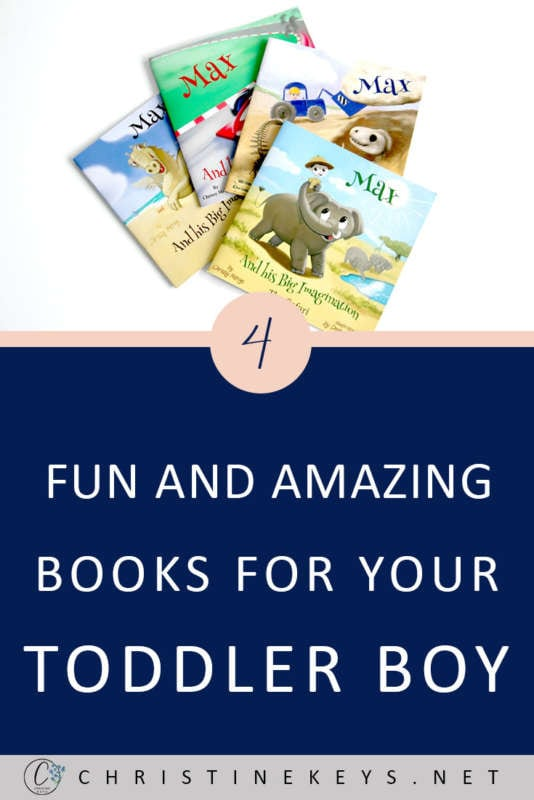 4 Fun And Amazing Books For Your Toddler Boy || Bring more fun and creativity into reading time with this beautiful series of books for toddlers! #books #reading #toddlers #parenting #motherhood #toddlerbooks