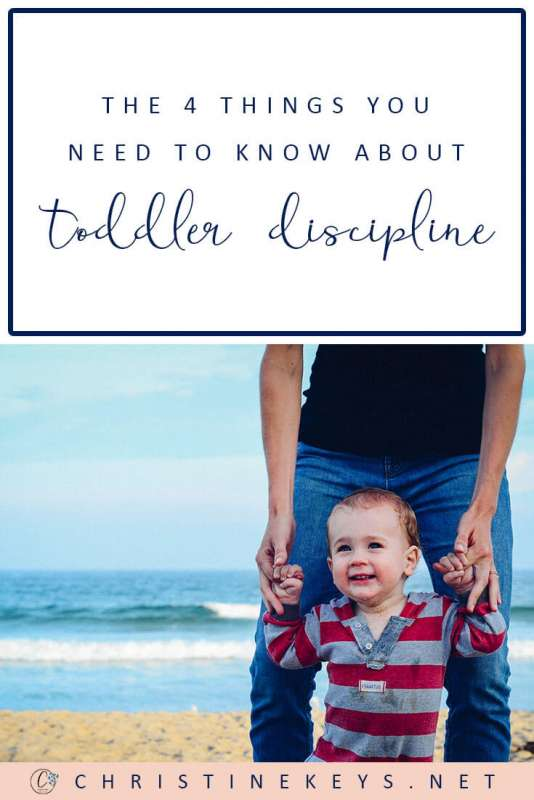 The 4 Things You Need to Know About Toddler Discipline || Not much is black & white when it comes to parenting. Find out 4 important things you need to know about when it comes to disciplining your toddler. #parenting #discipline #toddlers #children #motherhood #family