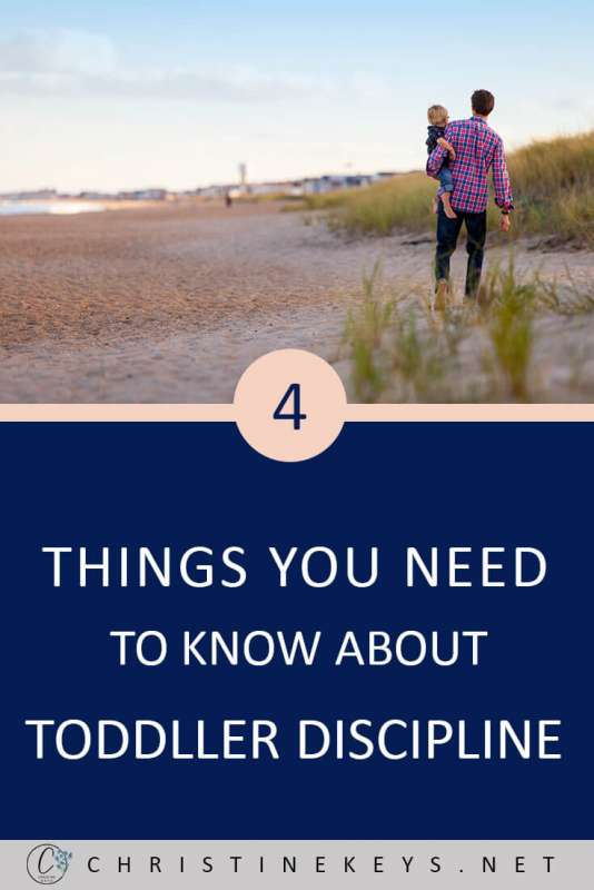 4 Things You Need to Know About Toddler Discipline || Not much is black & white when it comes to parenting. Find out 4 important things you need to know about when it comes to disciplining your toddler. #parenting #discipline #toddlers #children #motherhood #family