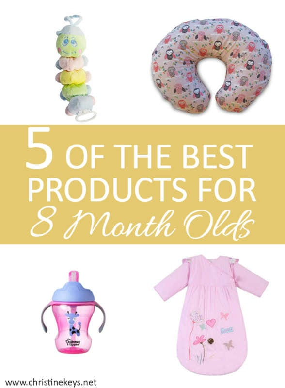 5 Of The Best Products For 8 Month Olds | A routine guide and product suggestions for your baby. My favourite products including the best cup for babies, beautiful moccasins, and an essential item when you have two small children!