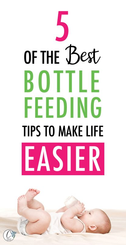 Pinterest image about the best bottle feeding tips