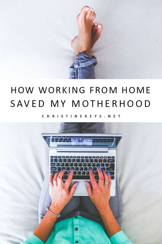 How Working from Home Saved my Motherhood || Read about my journey into becoming a WAHM and how it literally saved my motherhood. #parenting #wahm #workingmom #mom #motherhood #working #homeoffice #blog #blogger