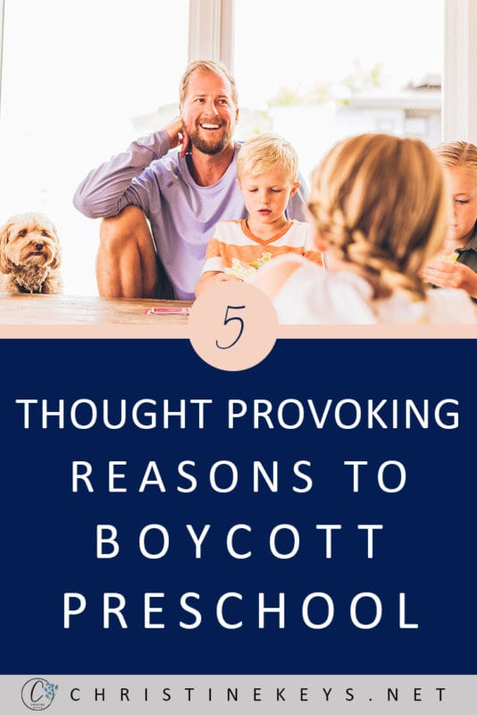 5 Thought Provoking Reasons To Boycott Preschool || Considering whether sending your child to preschool is necessary? Read these 5 points to find out the reasons why it may not be so. #parenting #homeschool #homeschooling #preschool #toddlers #motherhood #school #education