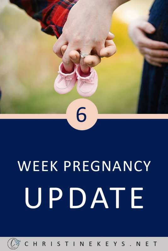 6 Week Pregnancy Update || It is so helpful to know first-hand what pregnancy symptoms are normal. I'm so glad I found this post which goes into detail about how this mama is feeling at 6 weeks pregnant. #motherhood #pregnancy #babies
