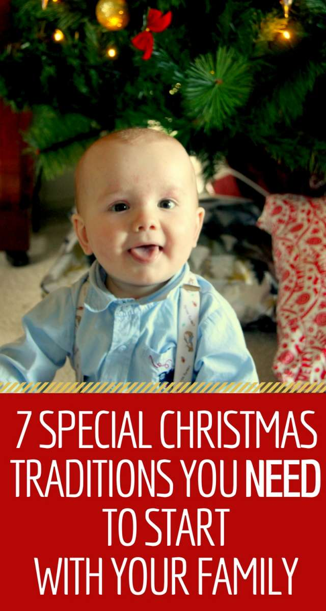 7 Special Christmas Traditions You Need To Start With Your Family | A bunch of ideas for traditions to start with your family. :)