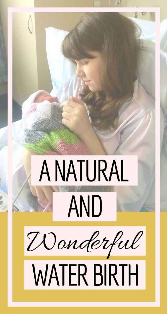 A Natural And Wonderful Water Birth | The birth story of my second child, Annie. Read about how my labour began and the natural water birth I was able to experience.