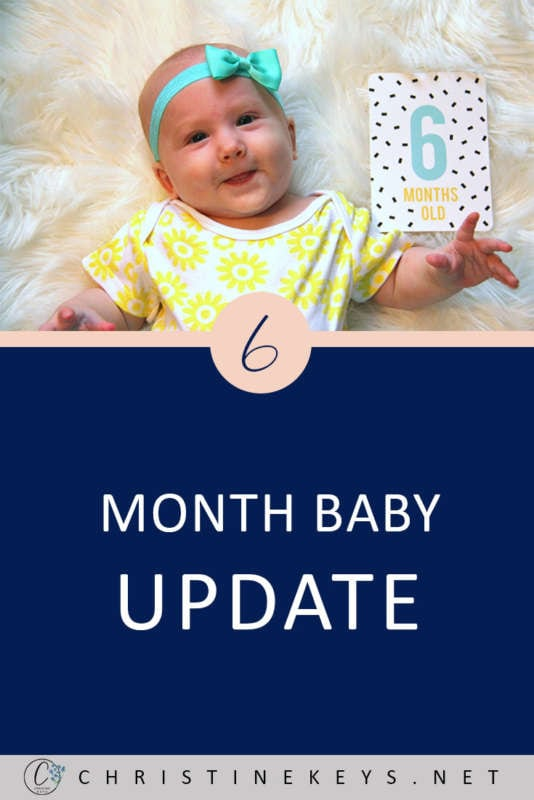 6-Month Baby Update    Find out what toys and products we're loving at 6 months. This is Annie's 6-month update, along with her routine. #baby #toys #babyproducts #babyroutine #babyschedule