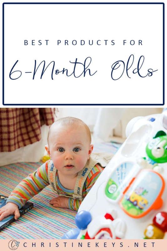 Best Products For 6-Month Olds    Find out what toys and products we're loving at 6 months. This is Annie's 6-month update, along with her routine. #baby #toys #babyproducts #babyroutine #babyschedule