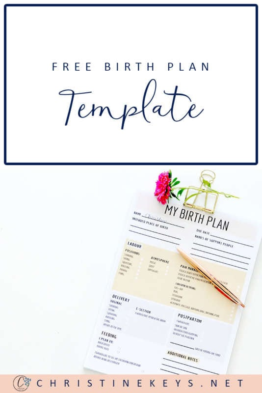 FREE Birth Plan Template! || This template takes away all the confusion by simplifying things and making it easier for you to specify what you do and do not want. #labor #birth #birthplan #pregnancy #motherhood #childbirth