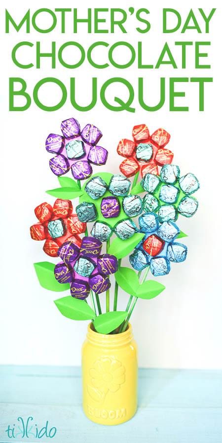 Delicious Dark Chocolate Bouquet Tutorial