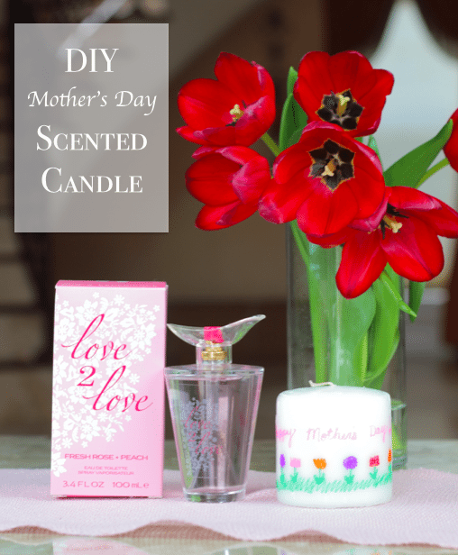 DIY Mother's Day Scented Candle