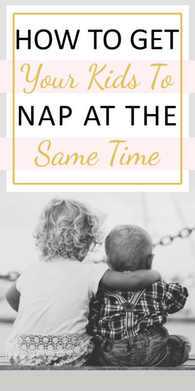 How To Get Your Kids To Nap At The Same Time || As a mama, it is so important to catch a break now and then. Having your children take naps at the same time helps go a long way towards that goal. #parenting #motherhood #naproutine #sleepschedule