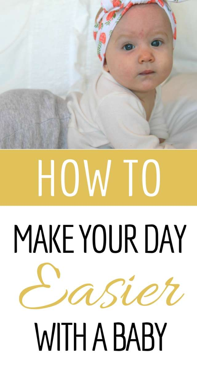 How To Make Your Day Easier With A Baby | Use this one key tip to start your day off right. Create predictable days even with a flexible baby schedule.