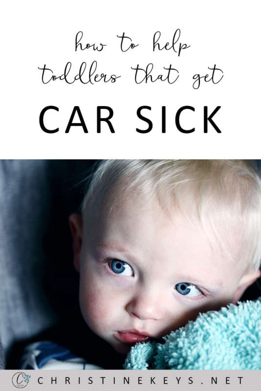How To Help Toddlers That Get Car Sick || Fight off motion sickness with these 5 handy tips! #toddlers #travel #parenting #parentinghacks #motherhood #babies