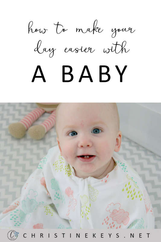 How To Make Your Day Easier With A Baby    Find out some key tips to making your day run much more smoothly when you have a baby. #motherhood #baby #babies #parenting #babyroutine #schedule #babywise