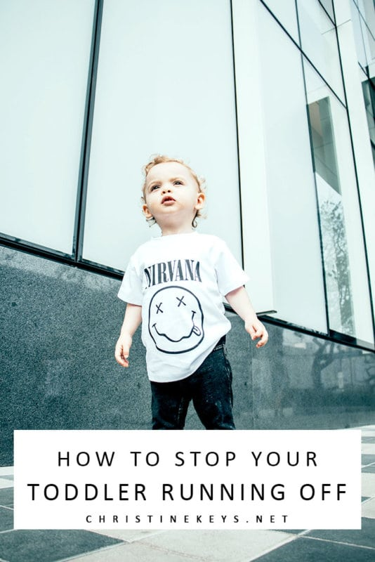 How to Stop Your Toddler Running off || Use these 3 parenting tips to teach your toddler about traffic safety and obedience. #parenting #toddlers #motherhood #safety #childsafety