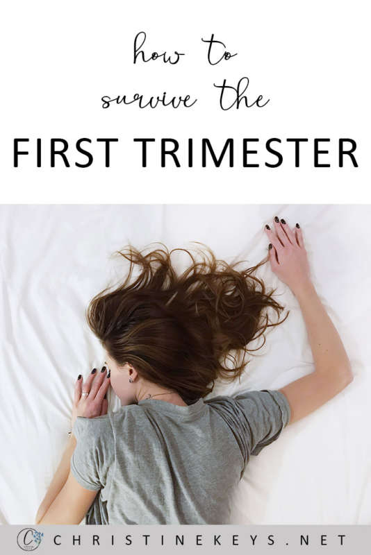 How To Survive The First Trimester || 7 tips for helping you to get through the first trimester! #pregnancy #motherhood #firsttrimester #babies