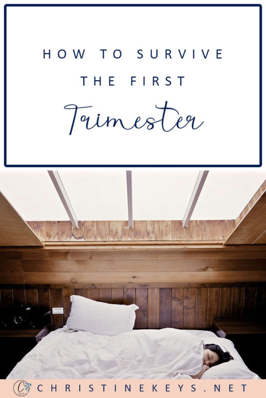 How To Survive The First Trimester || Tips and strategies for making it through the first trimester of pregnancy. #pregnancy #motherhood #parenting #babies