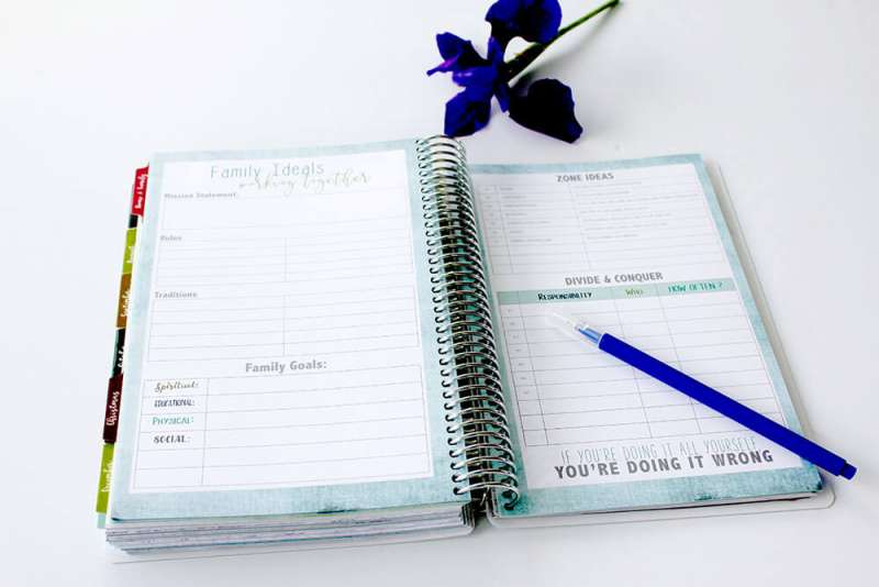 Mom on the Go Planner