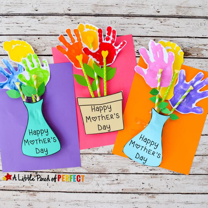 Mother's Day Handprint Flower Craft