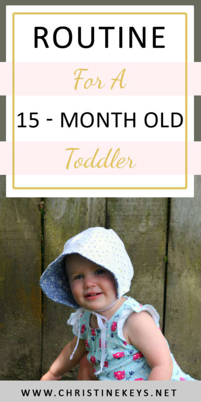 Routine For A 15 Month Old Toddler || See what Annie's routine was at 15 months, as well as the toys and products she's been loving! #babywise #parenting #routine #summary