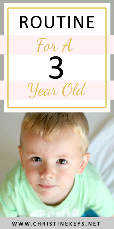 Routine For A 3 Year Old | This is Jack's 3 year update. You'll find his routine, the birthday gifts we got him, and a little interview I conducted. #3yearold #routine #babywise