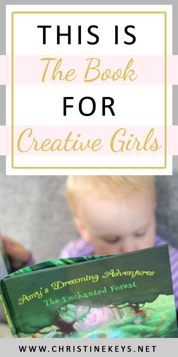 This Is The Book For Creative Girls | Looking for a feminine book that encourages imagination and adventure? You'll find it all right here! #bookreview #toddlerproduct