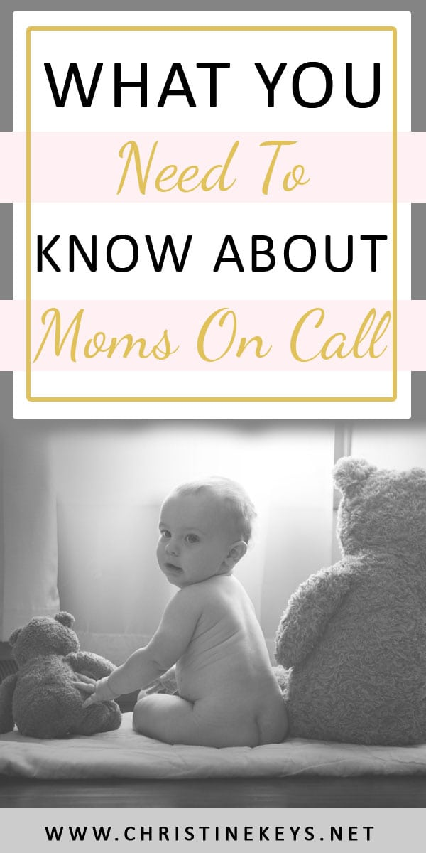 What You Need To Know About Moms On Call | Everything you need to know about the book, Moms On Call. It is a parent-led baby care guide that also gives parents a sleep training method. #momsoncall #sleeptraining #newbornsleep